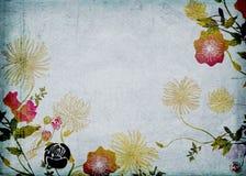 Retro flowers Stock Photos