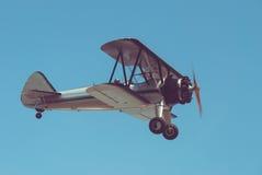 Retro- Flugzeug stockfotografie
