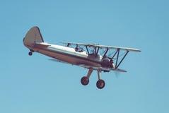 Retro- Flugzeug Lizenzfreie Stockfotografie