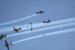 Retro- Flugzeuge Lizenzfreies Stockfoto