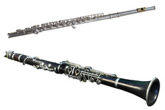 Retro flute Royalty Free Stock Photography