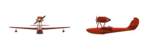 Retro Flying Boat Stock Image