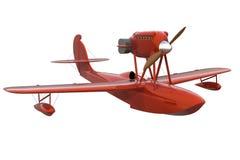 Retro Flying Boat Royalty Free Stock Photos