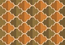Retro fold brownish Marrakesh Stock Images