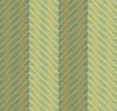 Retro fold green striped chevron Royalty Free Stock Images