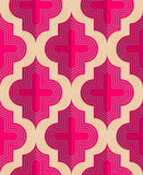 Retro fold pink Marrakesh Royalty Free Stock Image