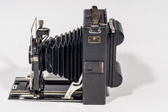 Retro Folding  camera Stock Photo