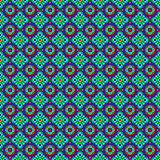 Retro Folk Pattern Stock Image