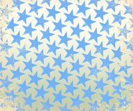 Retro fon 13. Old 70s retro star geometric background Stock Image