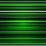 Retro fondo astratto di colore verde delle bande Immagini Stock