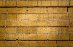 Retro fondo del muro di mattoni di lerciume Fotografia Stock