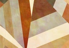 Retro fondo di carta variopinto con gli effetti di lerciume illustrazione di stock