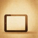 Retro fondo di ciao-tecnologia Fotografie Stock