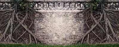 Retro fondo filtrato della natura di lerciume con spazio per testo Fotografia Stock