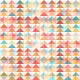 Retro fondo geometrico astratto Immagine Stock