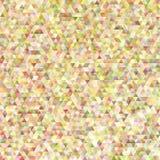 Retro fondo geometrico del modello del triangolo di pendenza Fotografia Stock Libera da Diritti