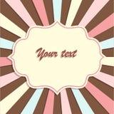 Retro fondo per il vostro testo Immagini Stock