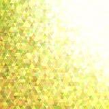 Retro fondo regolare geometrico del triangolo Immagini Stock
