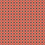 Retro fondo rosso e nero Fotografie Stock Libere da Diritti