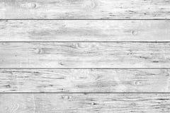 Retro fondo rustico di legno bianco luminoso delle plance immagini stock libere da diritti