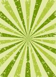 Retro fondo sbiadito di lerciume di luce solare fondo verde e beige di segnale di riferimento Illustrazione di vettore Sun Fotografia Stock Libera da Diritti