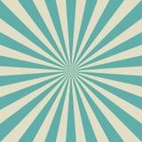 Retro fondo sbiadito di luce solare Fondo di segnale di riferimento del blu e di beige di acquamarina Vettore di fantasia Immagine Stock