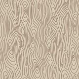 Retro fondo senza cuciture di legno. Illustrazione di vettore