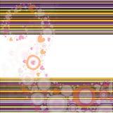 Retro fondo a strisce Fotografia Stock
