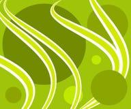 Retro fondo verde del modello fotografia stock