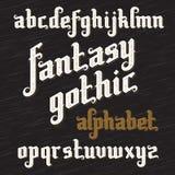 Retro Font set Royalty Free Stock Images