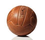 retro fotboll för boll arkivbilder