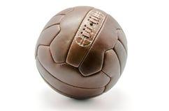 Retro fotbollboll arkivfoto