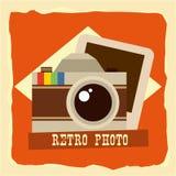 retro foto Royaltyfria Bilder