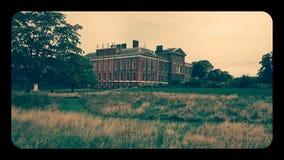 Retro foto del palazzo di Kensington immagini stock libere da diritti