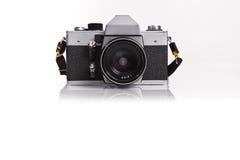 Retro- Foto-Kamera Lizenzfreie Stockfotografie