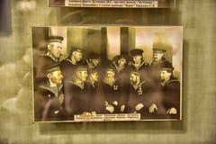 retro foto's in het Museum Royalty-vrije Stock Afbeelding