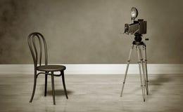 Retro- Foto-Studio Lizenzfreie Stockbilder