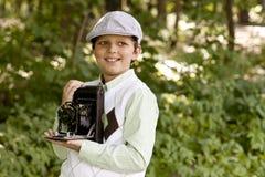 Retro fotograf zdjęcia stock