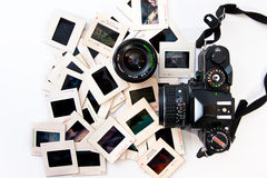 Retro fotografi utrustar royaltyfri bild