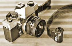 Retro- Fotographie Lizenzfreie Stockfotografie