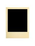 Retro fotokaart Royalty-vrije Stock Afbeelding
