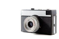 Retro fotokamera som isoleras på vit bakgrund 13 Fotografering för Bildbyråer