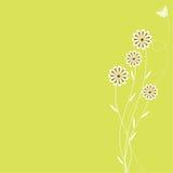 Retro- Frühlings-Hintergrund Lizenzfreie Stockbilder