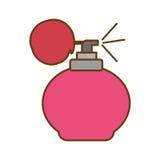 Retro fragrance bottle Stock Photos
