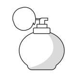 Retro fragrance bottle Royalty Free Stock Photos