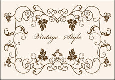 Retro frame Stock Images