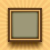 Retro frame. Frame on a retro background Stock Photo