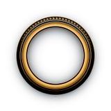 Retro frame. Frame on a white background Royalty Free Stock Photos
