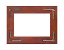 Retro frame Stock Image