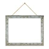 Retro frame op koord stock afbeeldingen